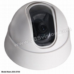 Plastic Dome Camera with 360 degrees Rotation
