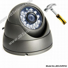 Vandalproof IR Color dome Camera with 24 pcs IR LEDs