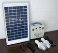 15W solar lighting system