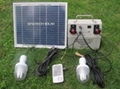 10W Solar DC lighting system