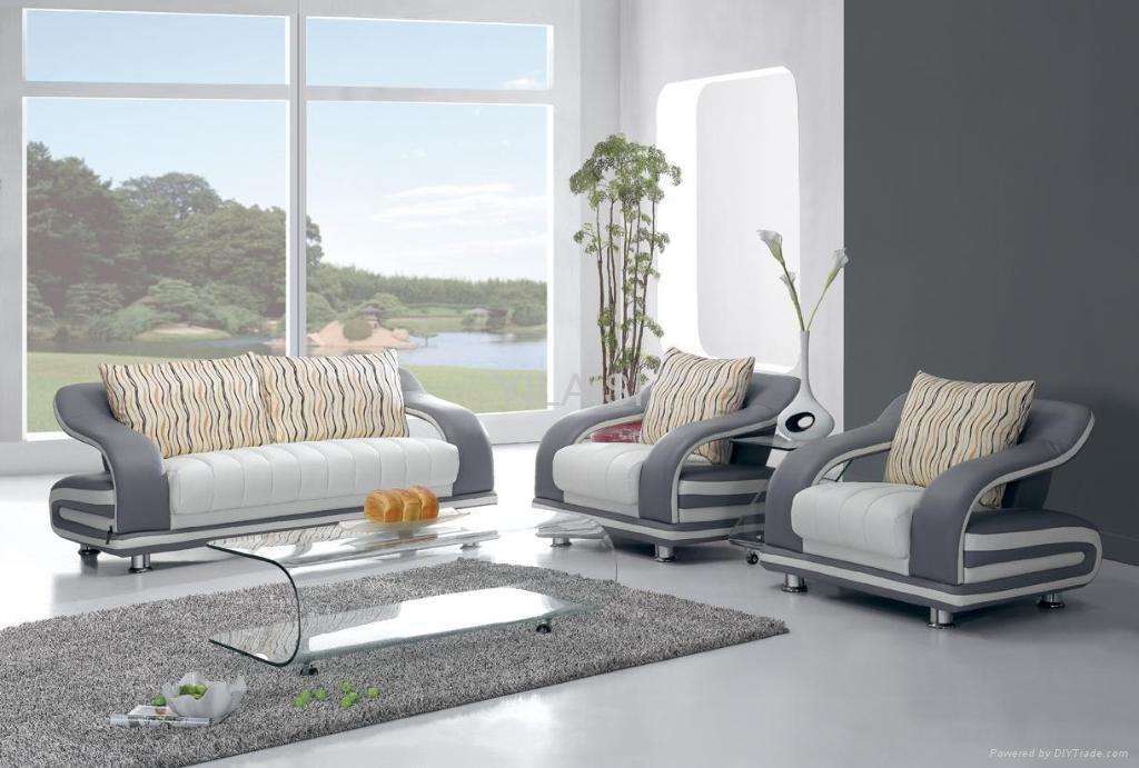 Captivating Modern Style Sofa 862