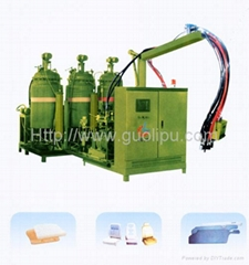 High/low pressure forming machine
