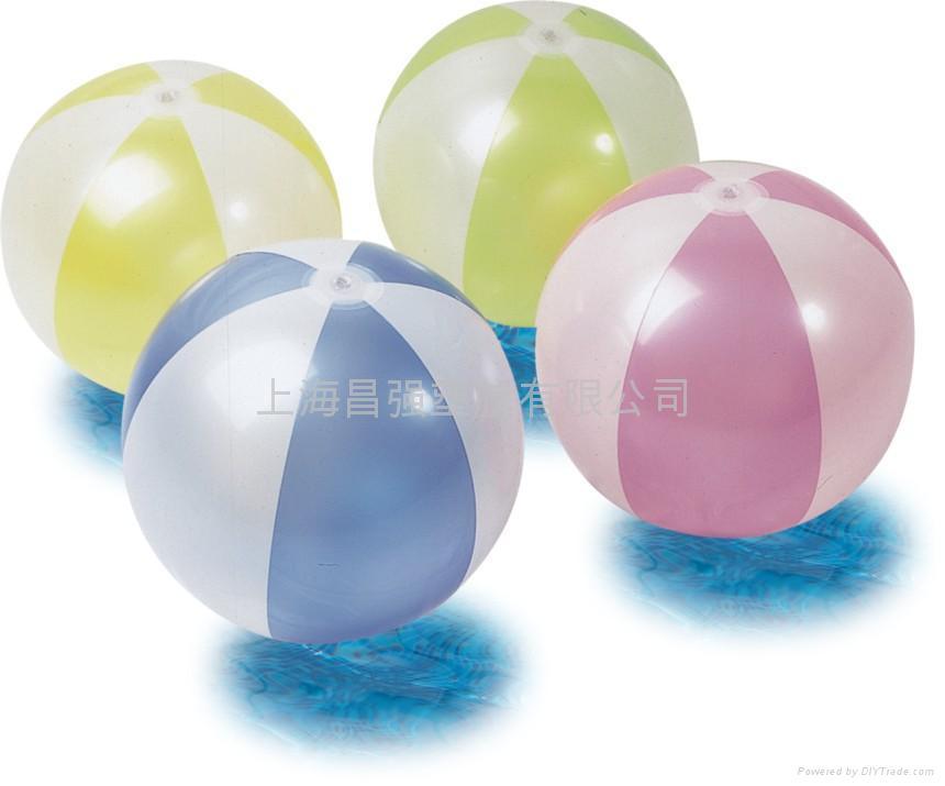 Inflatable PVC Beach Ball (CQ08001) 1