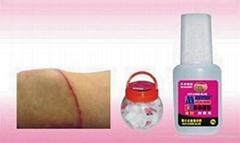 Cut cure glue