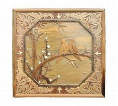 wall art/carved wooden art/wooden craft