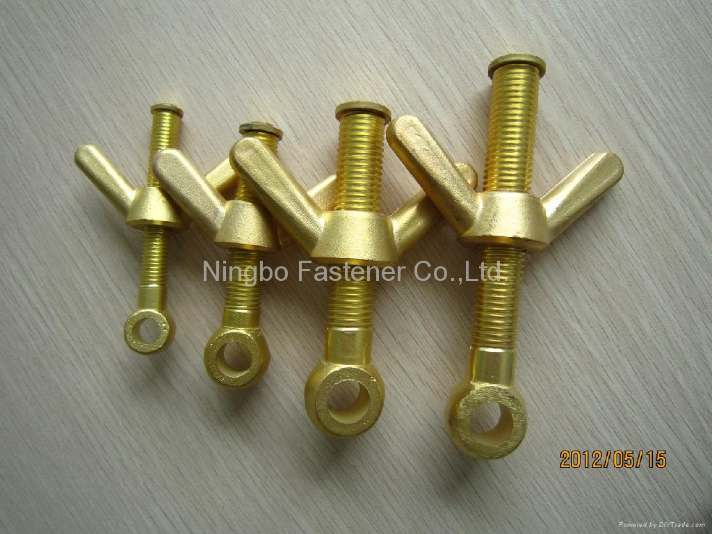 Brass valves compression fittings fasteners