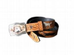 Mens & Ladies Wallet,Name Card Clip ,Leather Belts& carve Painting  etc