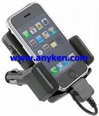 car fm transmitter modulator mp3 player with mini sd tf card usb flash memory 30