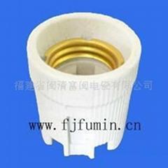 Porcelian Lampholder F519 E27