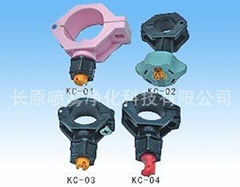 PP Clamp Plastic Spray Nozzle
