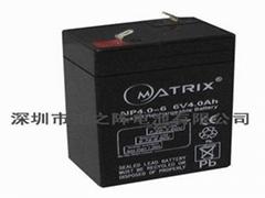 消防應急燈電池6V4AH