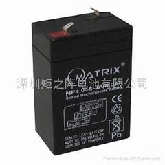 6V4AH电池用于应急灯电子秤
