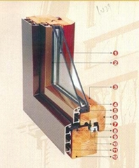 Aluminum clad wood window&door