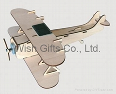 Solar powered Biplane