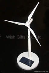 ABS Material Solar Powered Wind Turbine Toy