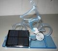 Solar Powered Acrylic Bike