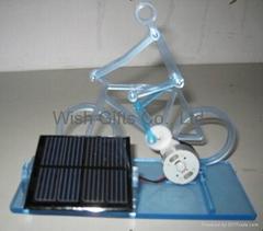 Solar Powered Acrylic Bi