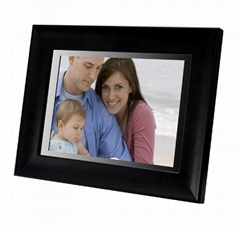 digital picture frame 10.4 with interchangable frame wooden,acryl,metal