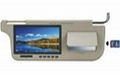 7inch sun visor  monitor with