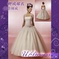 卿城婚紗禮服定製~公主蓬蓬沙繡