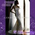 卿城婚紗禮服定製~低調華麗銀線