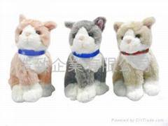 小貓布絨 / 填充玩具
