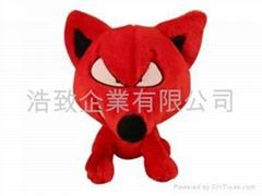 PLUSH TOY / STUFFED TOY - FOX