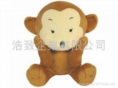 猴子布絨 / 填充玩具