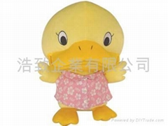 PLUSH TOY / STUFFED TOY - DUCK