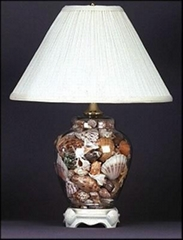 exquisite seashell lamp