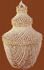 seashell lampshade