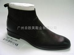 歐美鞋業展示靴子一