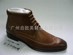歐美鞋業展示靴子二