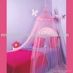 children baby  flower single size mosquito net
