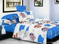 cartoon baby twin full size bedding set