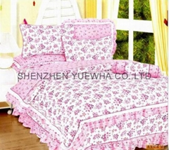 full size flower bedding set