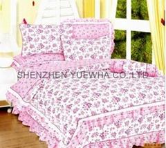 full size flower bedding set