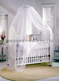 children baby  flower single size mosquito net 4