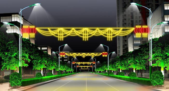 LED燈光隧道 1