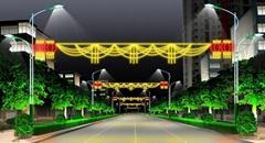 LED燈光隧道