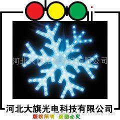 LED雪花燈 1