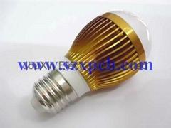 5W 大功率LED灯
