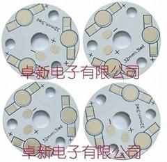 投光燈鋁基板PCB 3W單色 直徑32mm