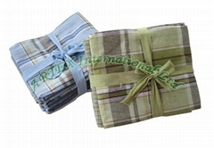 5-pack yarn-dyed kitchen towel