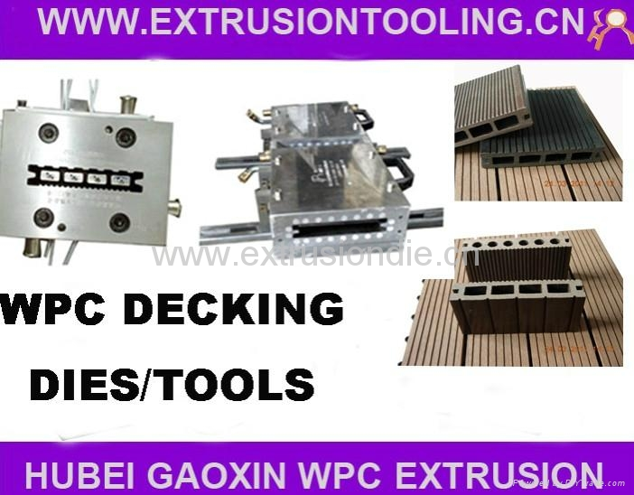 WPC decking extrusion mould 1
