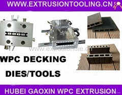 WPC decking extrusion mould