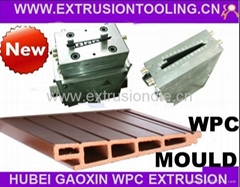 WPC wall panel extrusion dies