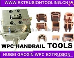 WPC handrail extrusion dies