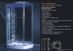 shower enclosure,shower room,steam room