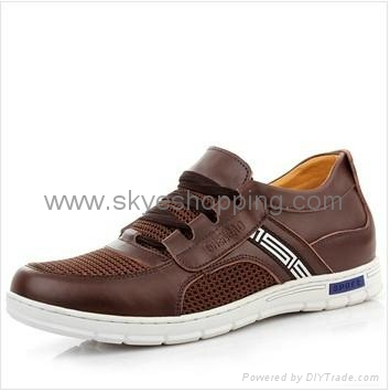 Fashion casual height elevating shoes in 6CM taller for short men 5